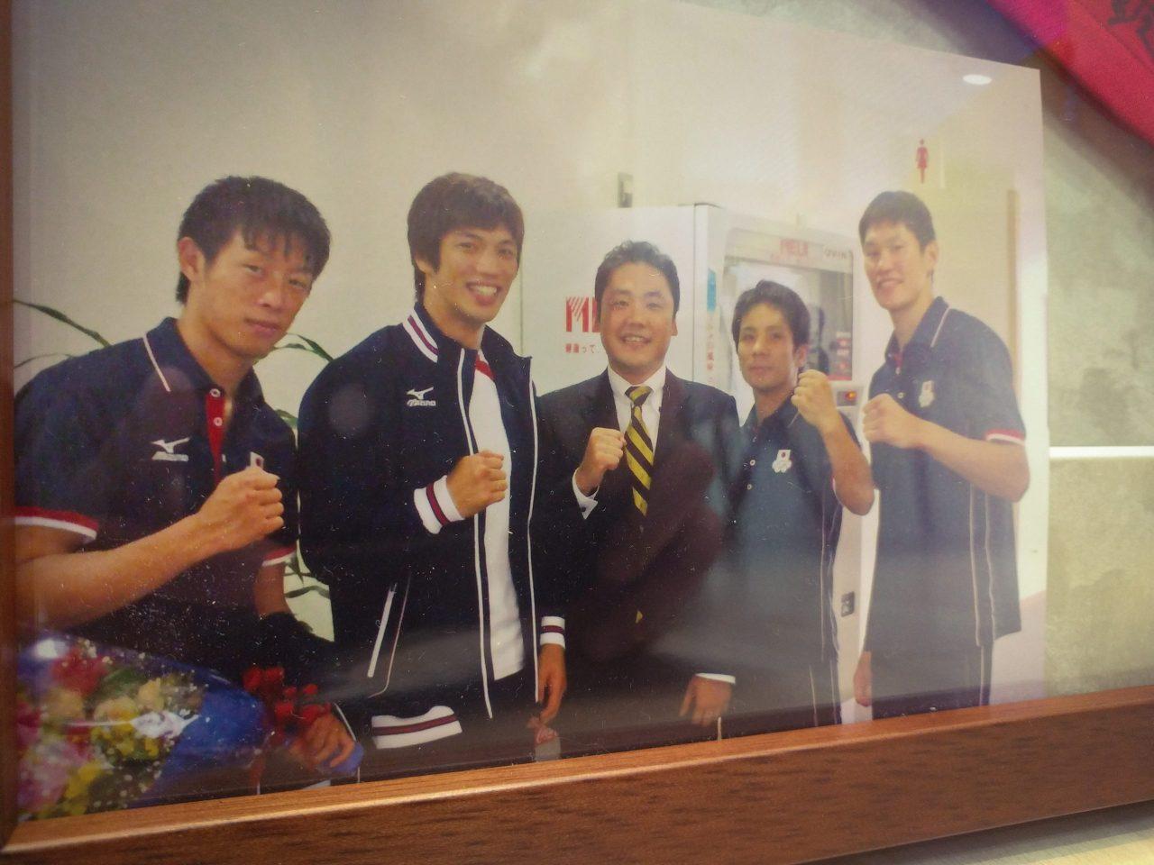 オリンピックのボクシング日本代表と院長
